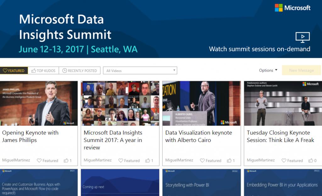 Data Insights Summit 2017 On-demand Sessions