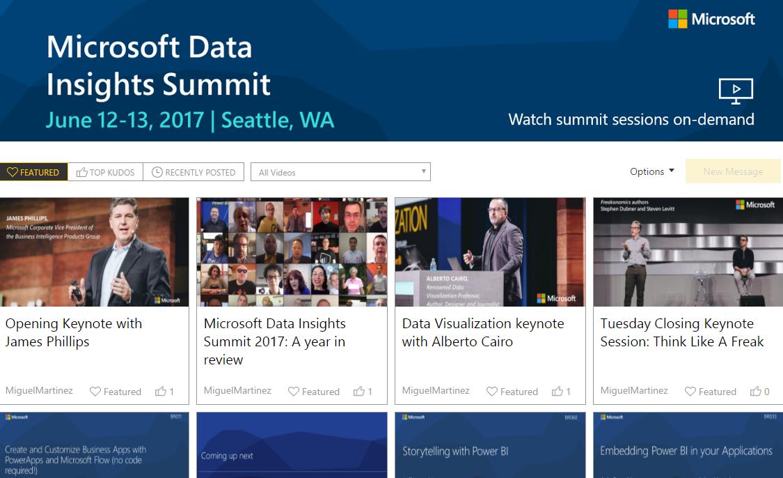 Watch Microsoft Data Insights Summit On-Demand